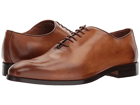 Massimo Matteo Bal Plain Toe Burnished Tan Clearance Best Sale bkw8w9hr3
