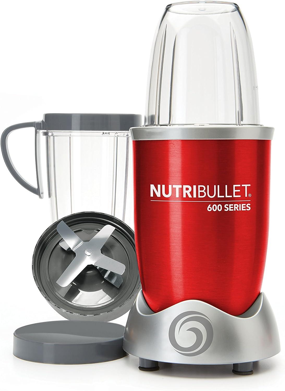 Nutribullet 600 W – Batidora – Tecnología ciclónica patentada – Extractor de zumo – Almuerzo Healthy