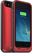 mophie Juice Pack Air Protective Case for iPhone 5, 5S and 5SE, Red