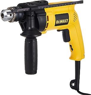 DeWalt 13mm 701W Variable Speed Percussion Drill, Metal, Wood, Masonry, Yellow/Black, D21710KM-B5, 3 Year Warrnty