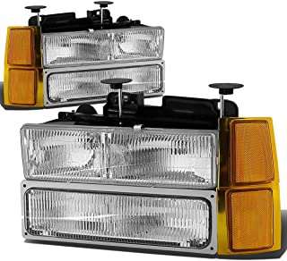 DNA MOTORING HL-OH-8P-C1094-CH-OEM Headlight Assembly, Driver and Passenger Side