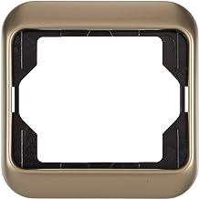 Color blanco, Universal, Screwless interruptores y marcos para enchufes Busch-Jaeger 1725-0-1562 interruptor y marco para enchufes