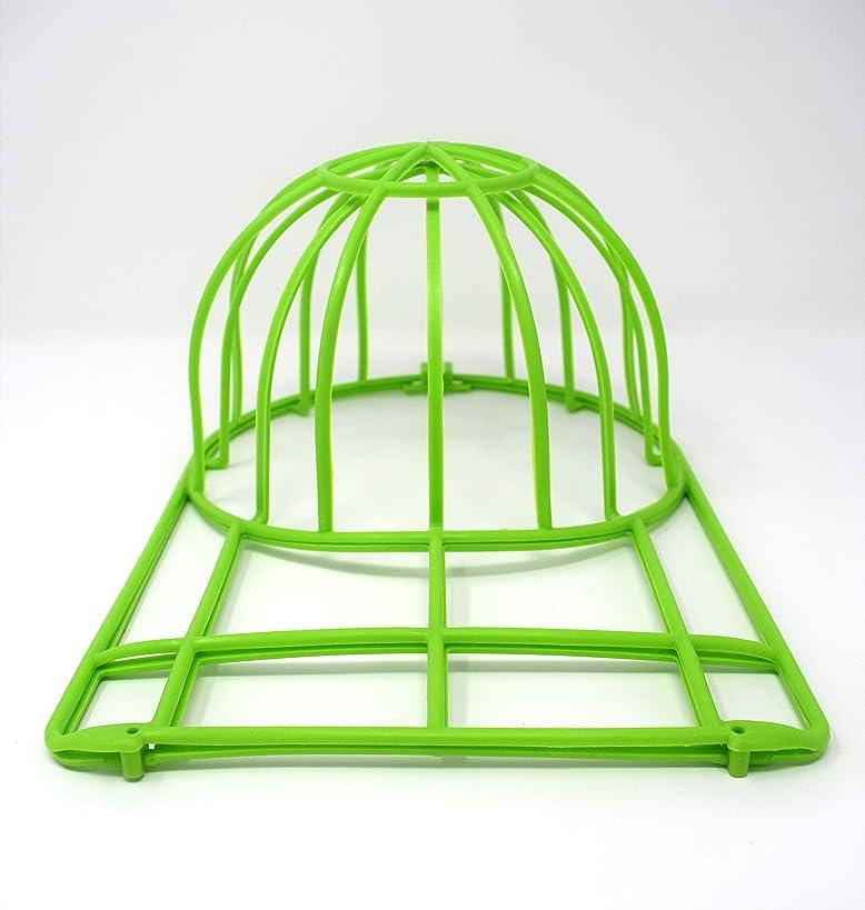 BallcapBuddy Cap Washer-Hat Washer Now Endorsed by Shark Tank - The Original Baseball Cap Cleaner New NEON Green.