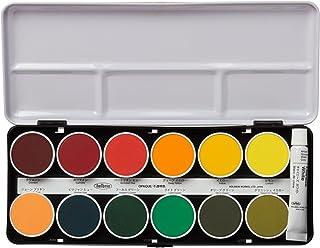 ホルベイン 固形水彩絵具 不透明ケーキカラー 24色セット C032 直径30mm
