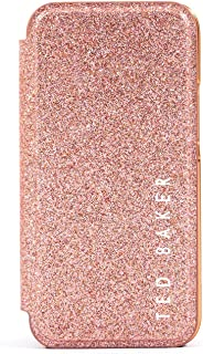 Ted Baker DIAMOY Mirror Case for iPhone 12 Pro Max - Rose Gold Glitter