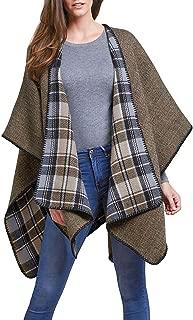 Woolrich Women's Reversible Blanket Warp Poncho