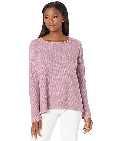 Eileen Fisher Ballet Neck Box Sweater in Peruvian Organic Cotton
