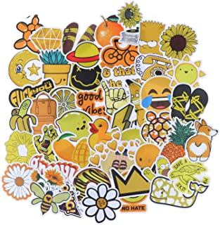 100Pcs Waterproof Vinyl Aesthetic Stickers for Laptop Water Bottle Room Decor Decal Small Fresh Style Cute Stickers for Te...