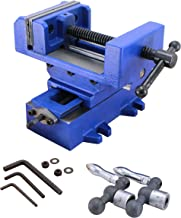 HFS (R) Compound Cross Slide Industrial Strength Benchtop & Drill Press Vise (6IN)