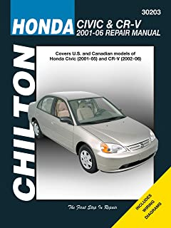 Honda Civic & CR-V, 2001-2006 (Chiltons Automotive Repair Manual)