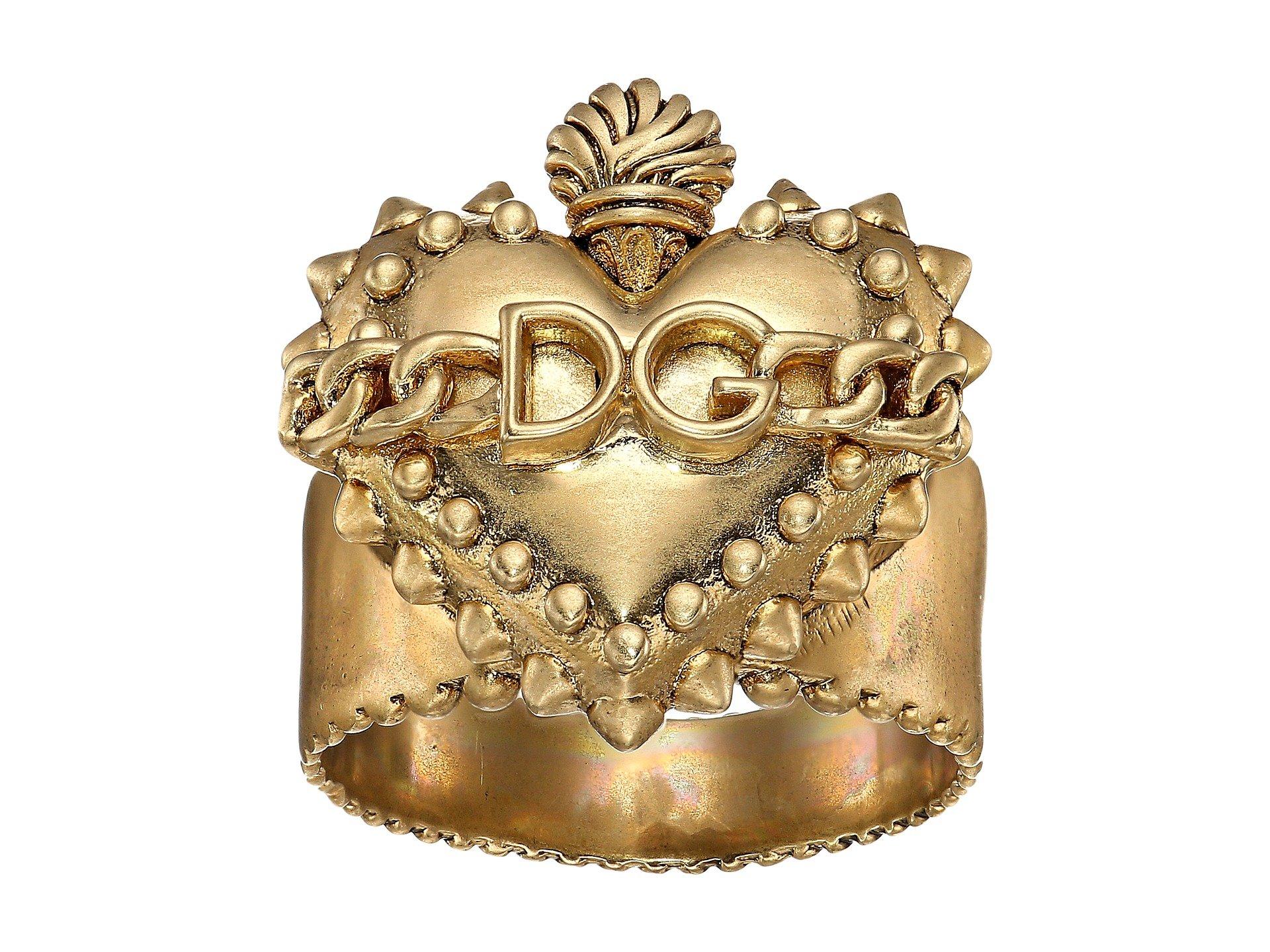 Anillo para Hombre Dolce andamp; Gabbana Heart Ring  + Dolce & Gabbana en VeoyCompro.net