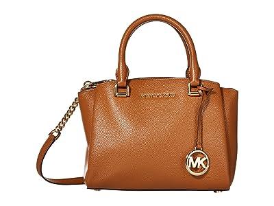 MICHAEL Michael Kors Maxine Small Messenger (Acorn) Messenger Bags