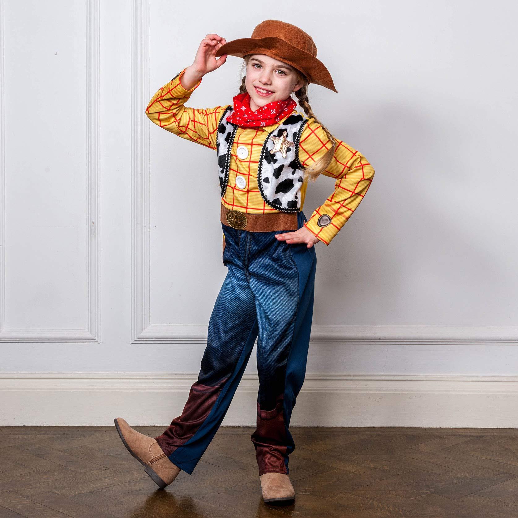 Disney I-610385s Disfraz infantil de Luxe Woody-Sombrero de ...