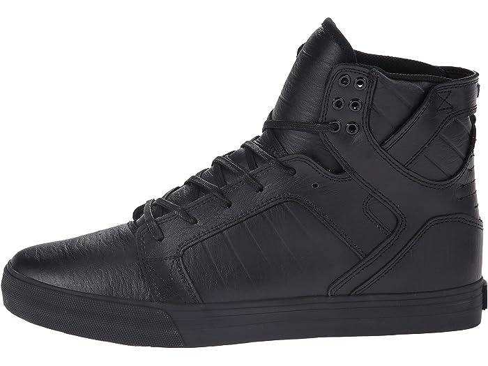 Supra Skytop Black/black/red Sneakers & Athletic Shoes