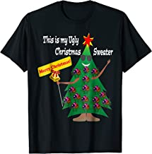This is my Ugly Christmas Sweater Funny Holiday T Shirt