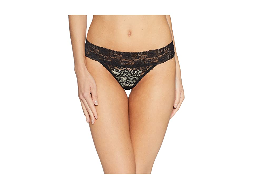 Stella McCartney Lottie Lusting Thong (Black) Women