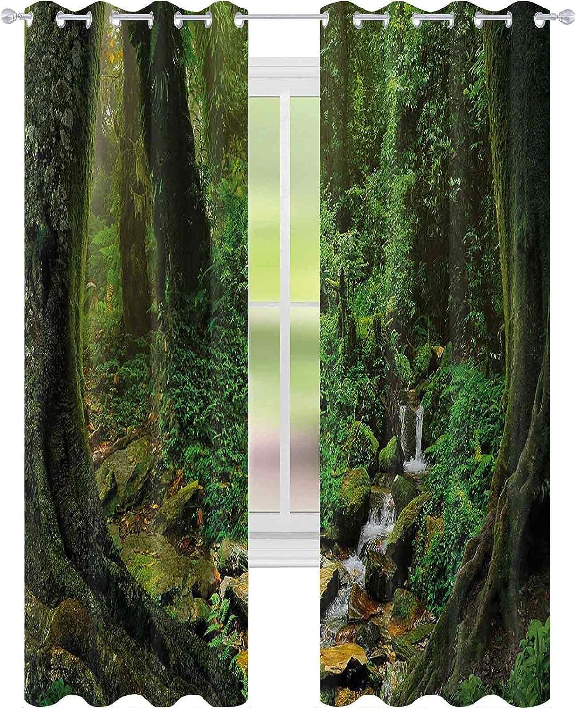 Blackout Curtains Bedroom Wonderland Seattle Mall Forest Rainfo Jungle Nepal Ranking TOP19