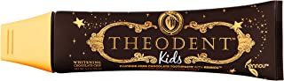 """THEODENT Kids with Rennou®: Whitening Chocolate Chip - Fluoride-Free Toothpaste Rebuilds, Hardens, and Strengthens Your Child`s Enamel and Offers a Solution to The""""Do Not Swallow"""" Dilemma"""