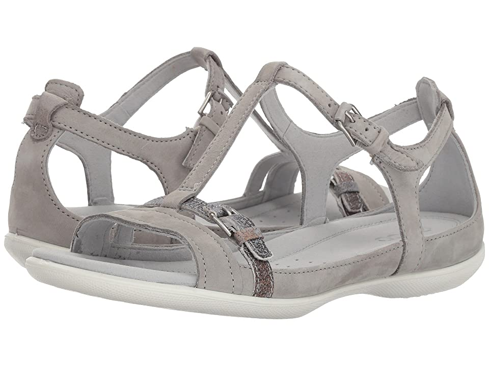 ECCO Flash Buckle Sandal (Wild Dove/Wild Dove) Women