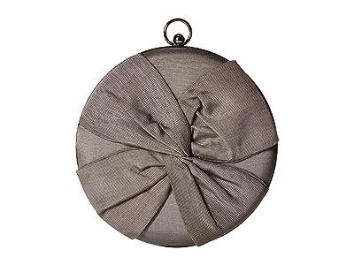 Jessica McClintock Vivianna Circle Clutch (Silver) Clutch Handbags
