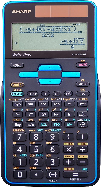 SHRELW535TGBBL - Los Angeles Mall EL-W535TGBBL Scientific Dedication Calculator