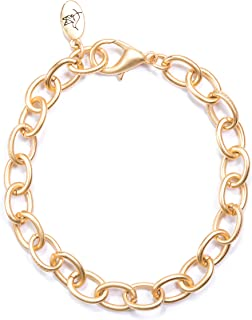 Amanda Blu Chain Bracelet - Matte Gold