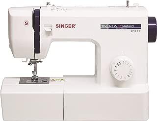 SINGER 電動ミシン フットコントローラー付き SN55e