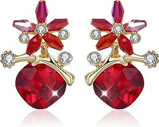 d892df8c9 Red Women's Earrings: Buy Red Women's Earrings online at best prices ...