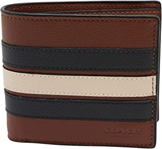 3-IN-1 WALLET WITH VARSITY STRIPE (COACH F24649)