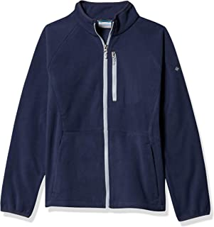 Columbia Youth Fast Trek III Fleece Full Zip Jacket, Warm Comfort