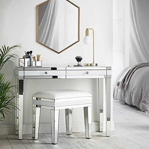 . White Console Table with Drawers  Amazon co uk