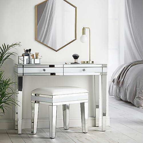 Mirrored Bedroom Furniture Amazon Co Uk