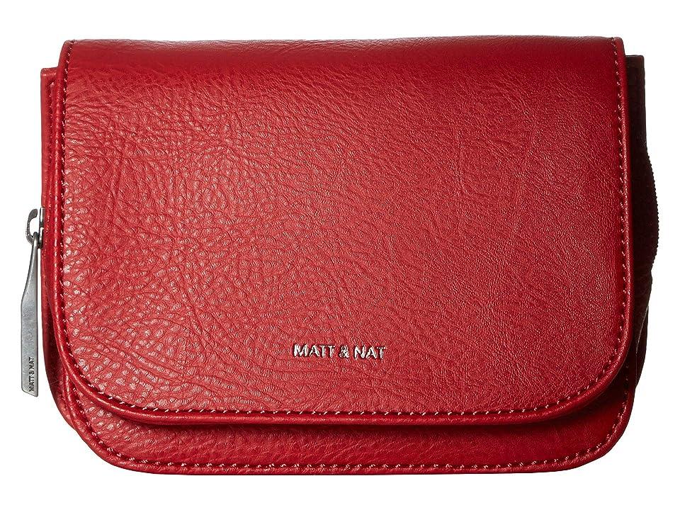 Matt & Nat Dwell Park (Red) Handbags