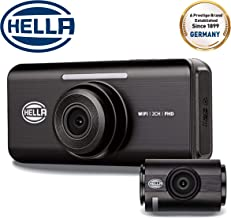 Hella DR820 - Dual Channel DashCam WiFi 1080P DVR
