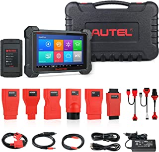 Autel MaxiCOM MK908 Diagnostic Tool OBD2 Scanner with All System and Service Functions Including Oil Reset, EPB, BMS, SAS, DPF, TPMS, IMMO Keys, Bi-Directional Control Active Tests, ABS Brake Bleeding