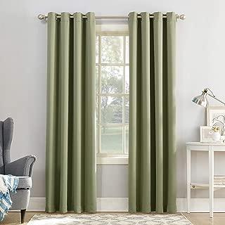 Sun Zero Easton Energy Saving Blackout Grommet Curtain Panel, 54