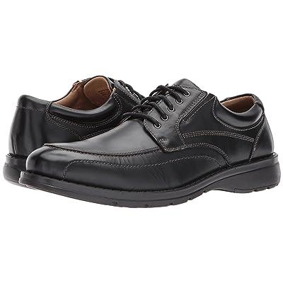 Dockers Barker Moc Toe Oxford (Black Polished Full Grain) Men