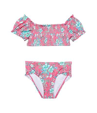 Janie and Jack Floral Two-Piece Swim (Toddler/Little Kids/Big Kids)