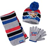 Puppen & Zubehör Spielzeug Disney Mickey Mouse Knitted Winter Set Hat Scarf & Gloves Toddlers Boys One Size Professional Design