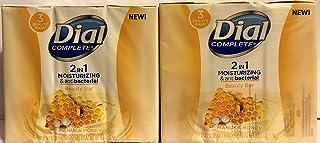 Dial Complete Beauty Bar Soap - 2 in 1 Moisturizing & Antibacterial - Manuka Honey - 3 Count 3.2 OZ Beauty Bars Per Packag...