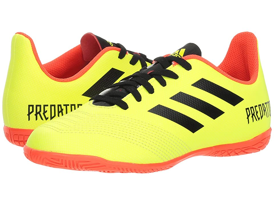 adidas Kids Predator Tango 18.4 IN Soccer (Little Kid/Big Kid) (Solar Yellow/Black/Solar Red) Kids Shoes