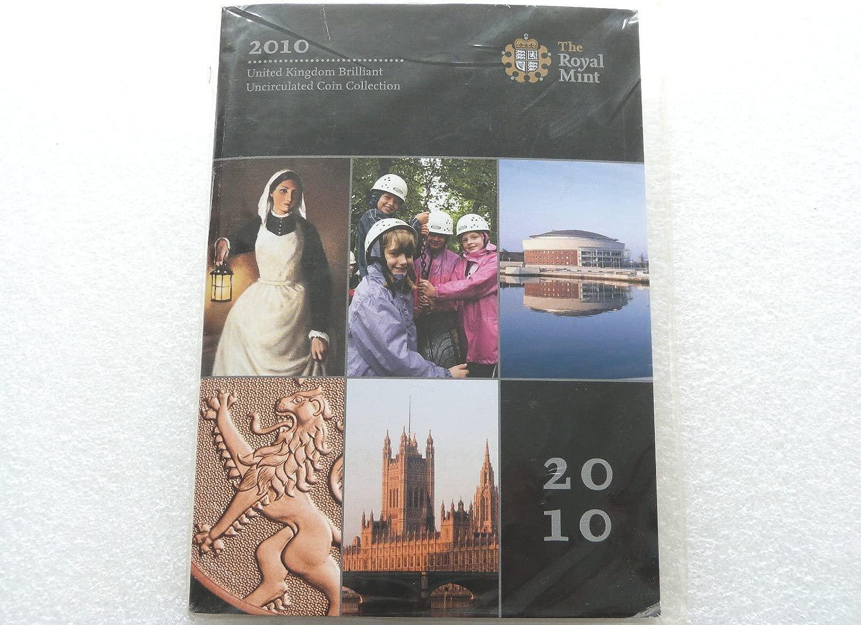 2010 brilliant uncirculated set 12 coins BU set