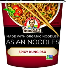 Dr. McDougall's Right Foods Asian Entree, Spicy Kung Pao Noodle, 2-Ounce Packages (Pack of 6)