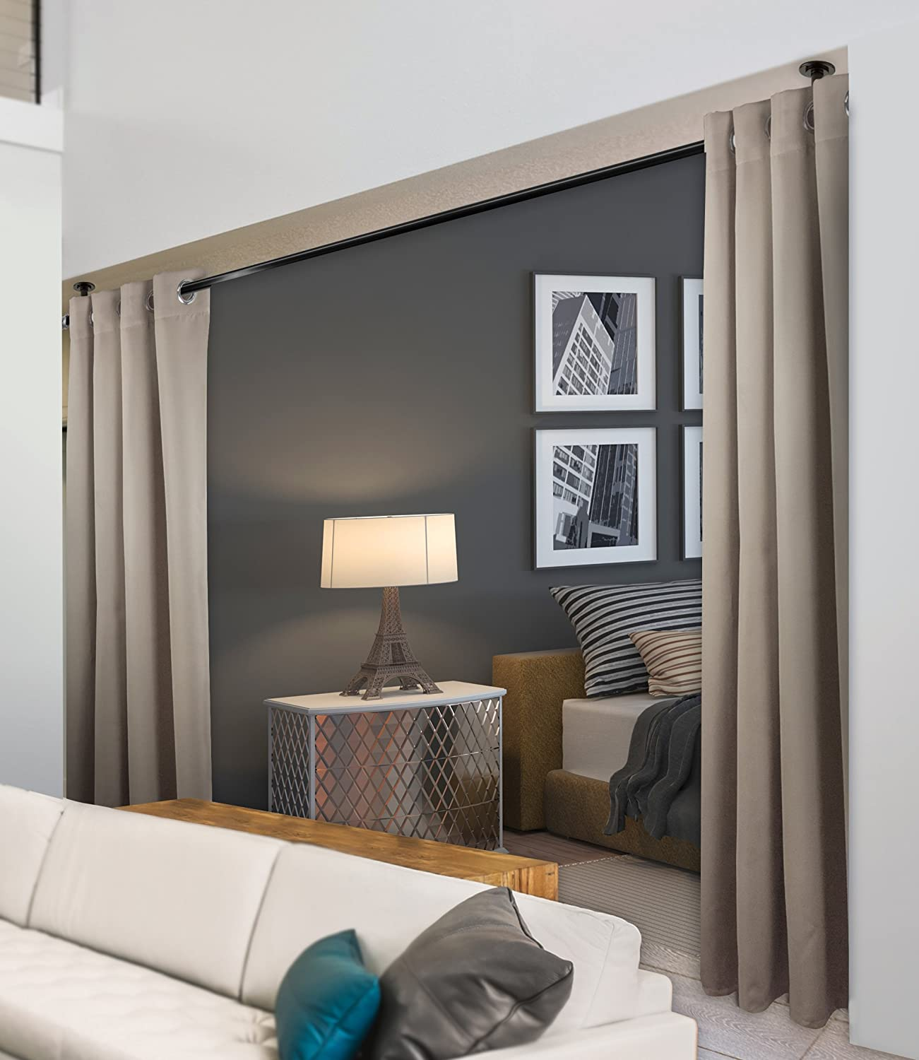 Outlet SALE Rod Desyne Window Thermal Isulated G Metal with Curtain Blackout Excellence