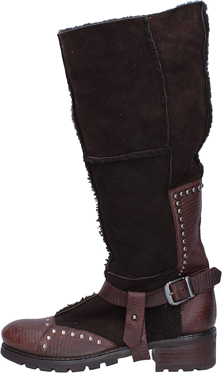MARE by FABI Boots Womens Suede Brown