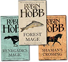 Robin Hobb Soldier Son Trilogy Collection 3 Books Set (Renegade's Magic,Shaman's Crossing, Forest Mage)