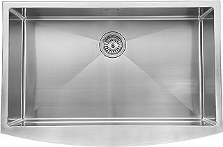 ANDEMEN 19F07SK S- Fregadero de cocina acero inoxidable 83,8x55,9 acero