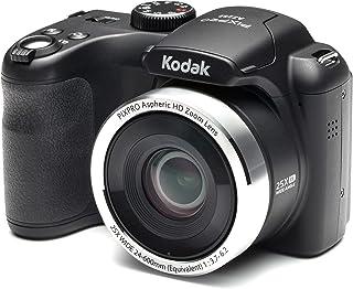 Kodak AZ252 Astro zoom brokamera – svart (16 MP, 25 x optisk zoom) 7,6 cm LCD-skärm