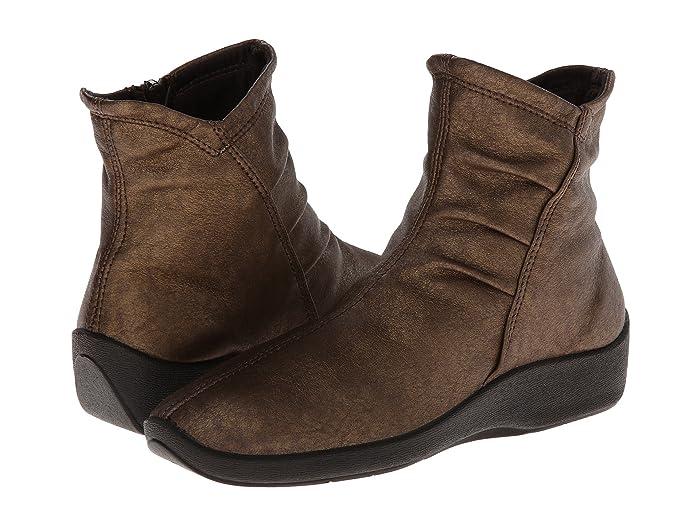 Arcopedico  L19 (Bronze) Womens Zip Boots