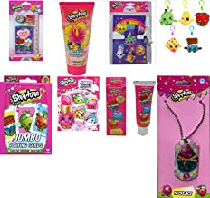 Shopkins Complete Bundle Girls Christmas Toys/Accessories/ Travel Set 10+ Pieces | Baby/Toddler Girls Christmas Gift